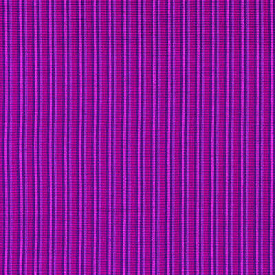 Pink Purple And Black Striped Textile Background Poster by Keith Webber Jr