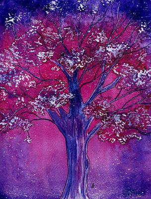 Pink Spring Awakening Poster