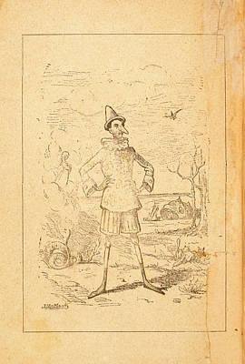 Pinocchio Poster by British Library