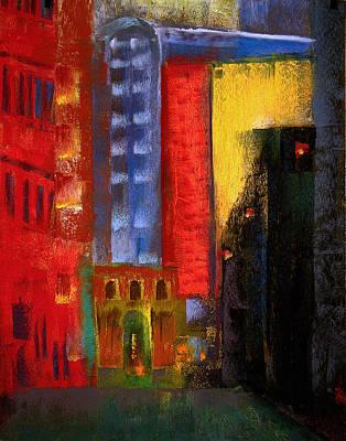 Pioneer Square Alleyway Poster