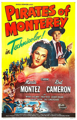 Pirates Of Monterey, Us Poster, Maria Poster by Everett