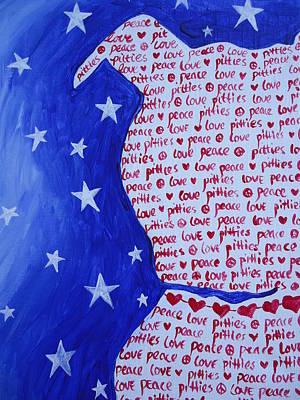 Pittie Love Poster