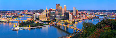 Pittsburgh And The Ducky  Poster