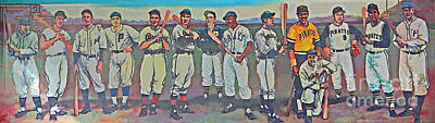 Pittsburgh Mural Poster by Linda Vodzak