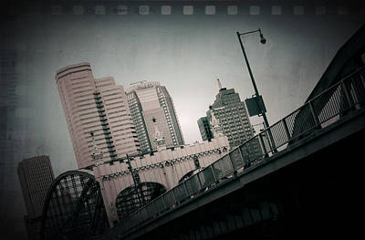 Pittsburgh Skyline From Station Square Poster by Kenneth Krolikowski