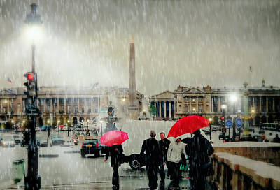 Place De La Concorde Poster
