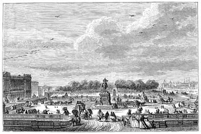 Place Louis Xv, 1763 Poster by Granger