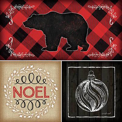 Plaid Christmas II Poster