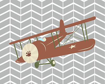 Plane Iv Poster by Tamara Robinson