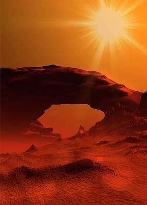 Plant Mars Poster