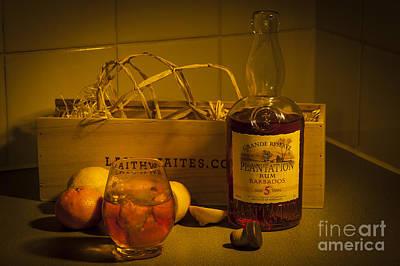 Plantation Rum Poster by Donald Davis