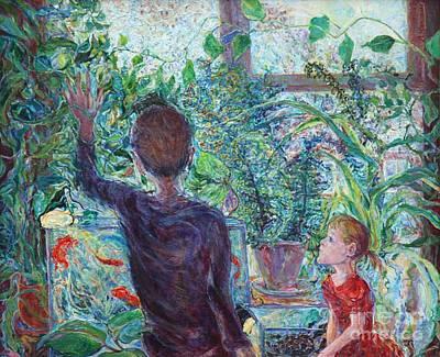 Plants Animals Children Poster