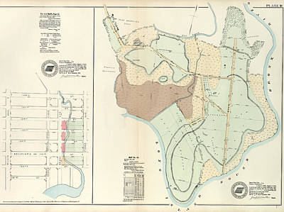 Plate 18 Vol. 4 Of Maps, Page 34 Bounded By 138th Street Poster by Litz Collection