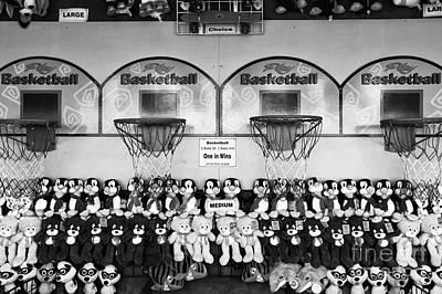 Play Basketball Mono Poster