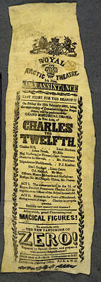Play Bill Poster by British Library
