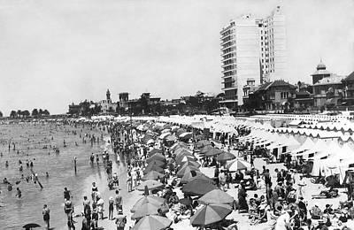 Playa Pocitos In Uruguay Poster
