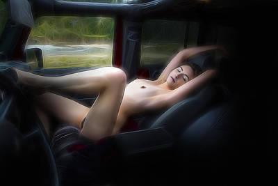 Playful Passenger Poster