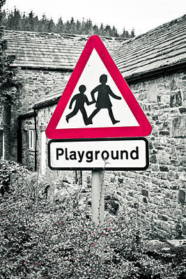 Playground Poster by Tom Gowanlock