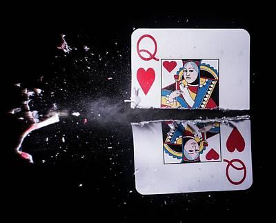 Playing Card Trick Shot Poster