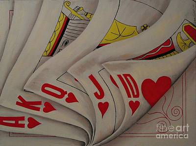 Playing For Keeps Poster by Wayne Cantrell