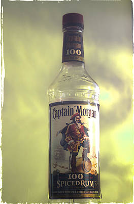 Playing With Captain Morgan Poster by Janie Johnson