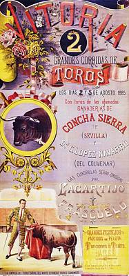 Plaza De Toros - Vitoria Poster by Pg Reproductions