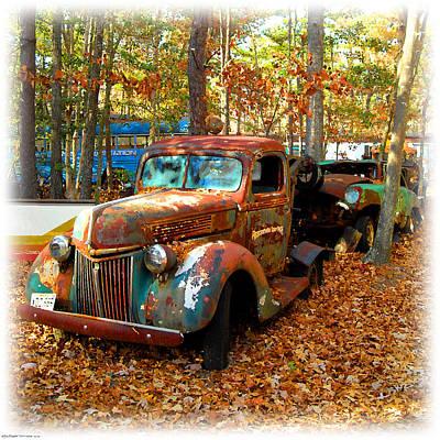 Pleasantville Speedway Tow Truck Poster