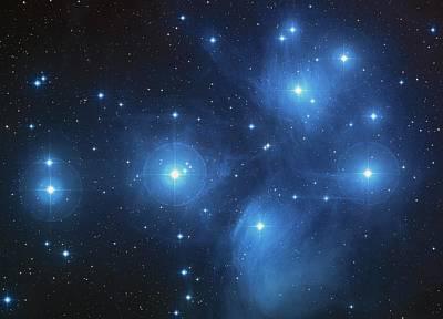 Pleiades - Star System Poster