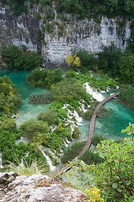 Poster featuring the photograph Plitvice Lakes National Park by Laura Melis