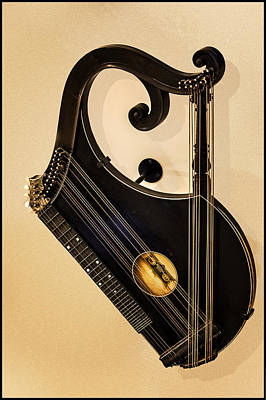 Plucked Vienna Zither Poster