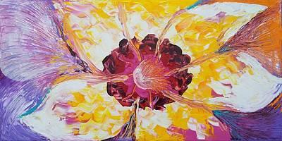 Plucking A Seven-petal Flower Poster