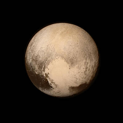 Pluto Poster by Nasa/apl/swri