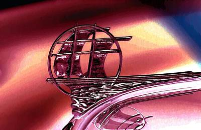 Plymouth Hood Ornament Poster by John Madison