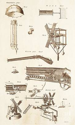 Pneumatic Devices Poster by David Parker