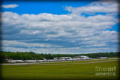 Pocono Airport Race Week 2014 Poster by Gary Keesler