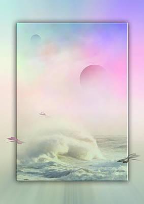 Poesie Des Lichts - Hinaus In Die Unendlichkeit Poster
