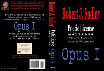 Poetic License #4121964 Opus I Poster by Robert J Sadler