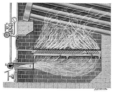 Poillon Boiler Furnace Poster