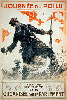 Poilu Day, 1915 Poster