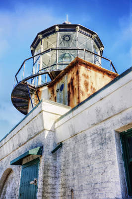 Point Bonita Lighthouse - Marin Headlands 6 Poster by Jennifer Rondinelli Reilly - Fine Art Photography