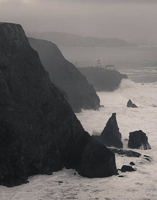Poster featuring the photograph Point Bonita Lighthouse by Scott Rackers