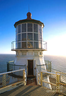 Point Reyes Lighthouse California Poster by Jerry McElroy