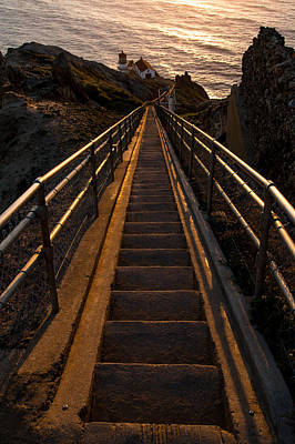 Point Reyes Lighthouse Staircase Poster