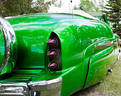 Poison Ivy Green Custom Car Poster