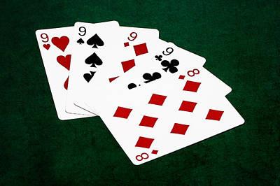 Poker Hands - Four Of A Kind 3 V.2 Poster
