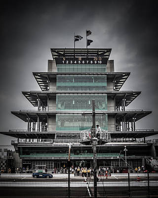 Pole Day At The Indy 500 Poster