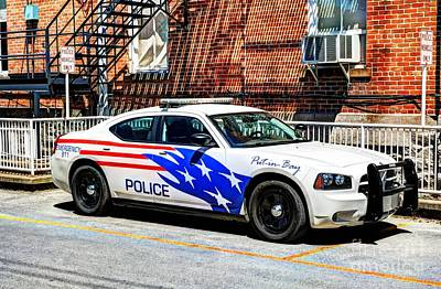 Police Vehicle Only Poster