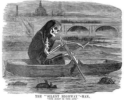 Pollution Thames River Poster by Granger