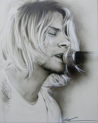 Kurt Cobain - ' Polly ' Poster