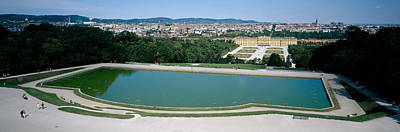 Pond At A Palace, Schonbrunn Palace Poster by Panoramic Images
